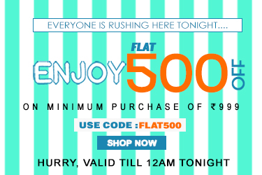 Yepme: Get Flat Rs.500 OFF  on Rs.1000 + 20% OFF on Online Payment